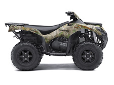 A TRUE OUTDOORSMAN NEEDS A BIG-BORE MACHINE WILLING TO TRACK DEEPER AND GO FURTHER AND THE BRUTE FORCE 750 4X4i EPS CAMO ATV CAN TACKLE THE WILDERNESS AND ITS MOST TUMULTUOUS TERRAIN.